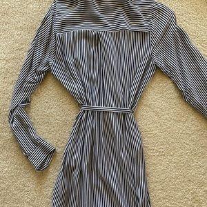 colored striped dress